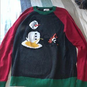 Rail Christmas Sweater